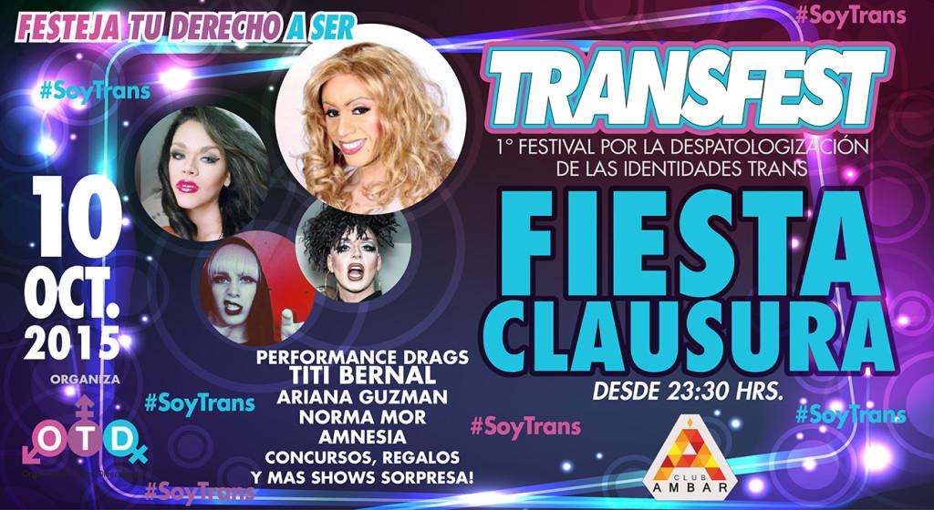 Fiesta de clausura #TransFest
