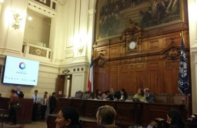 Durante El Coloquio, En El Senado De Chile.