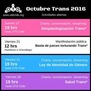 Octubre Trans 2016