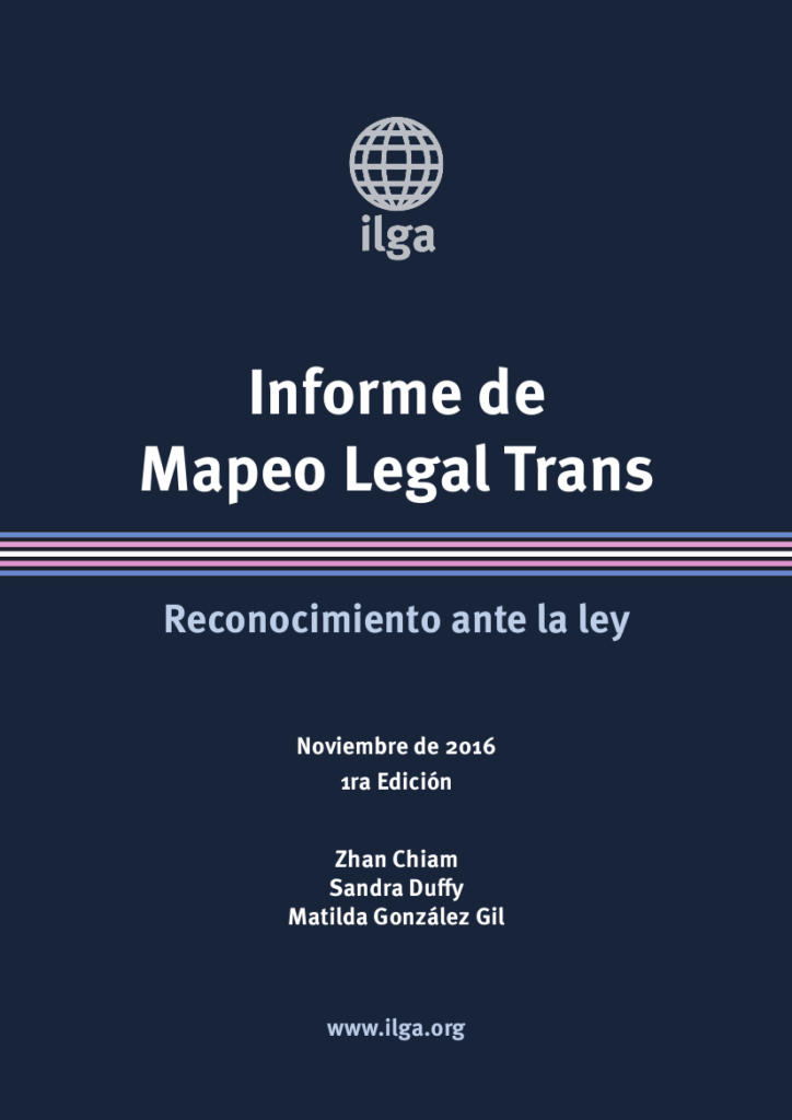 Informe De Mapeo Legal Trans – ILGA