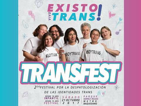 ¡Solidariza Con La Comunidad Trans! Se Parte Del Primer Festival Por La Despatologización!