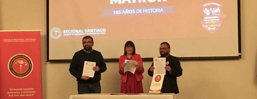OTD Chile Signs An Agreement On Sexual Diversity With The College Of Midwives And Midwives Of Chile