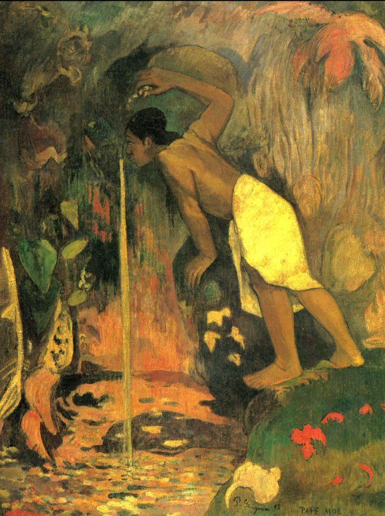Pape Moe -Agua misteriosa- Paul Gauguin -1848 – 1903