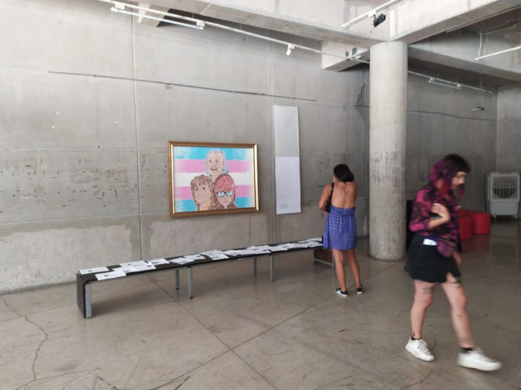 Obra trans en la Biblioteca de Santiago